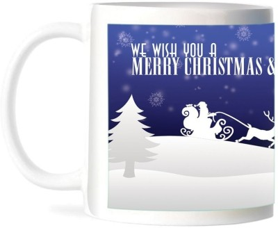 Refeel Gifts Merry Christmas & Happy New Year (AS-123) Ceramic Mug