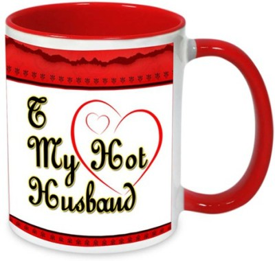 alwaysgift I Love My Hot Husband  Ceramic Mug