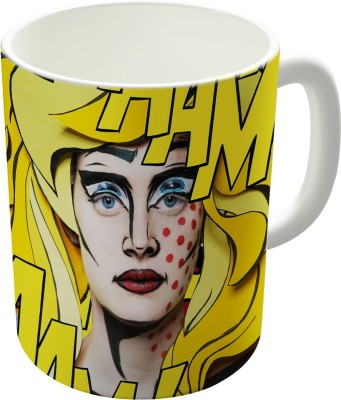 Dreambolic Betty,S Printed Ceramic Coffee Ceramic Mug