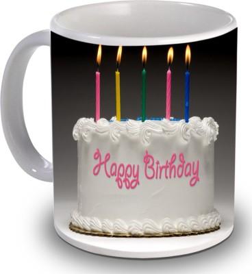 Print Helllo Happy Birthday R145 Ceramic Mug