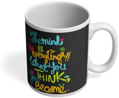 PosterGuy Mind Is Everything! Mind,Everything,Think,Become,Quotes,Buddhaquotes,Positive,Motivational,Beingpositive,Confidence,Selfboost,Encouragement Ceramic Mug