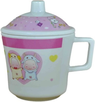 Babysid Collections KIDS CUP WITH LID Melamine Mug