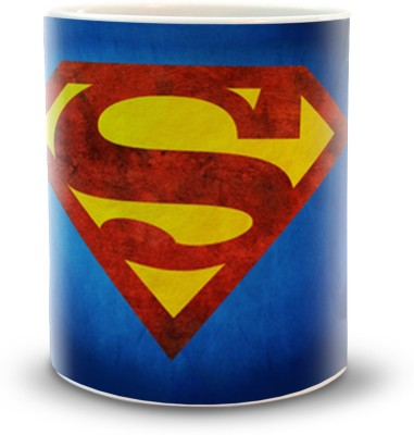 Shoppers Bucket SuperMan Ceramic Mug