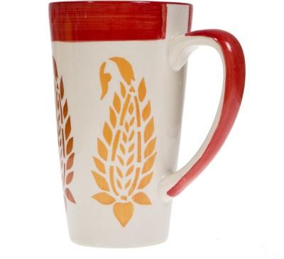 Urban Monk Creations whiteredlefy01 Ceramic Mug