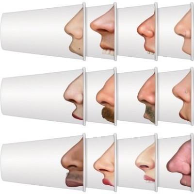 GeekGoodies Nose Cup Paper Mug