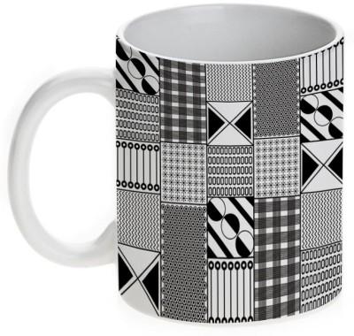 Mugwala Designer Doodling Ceramic Mug