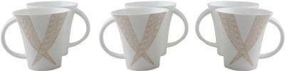 WHITE GOLD WG4506 - 335G Porcelain Mug