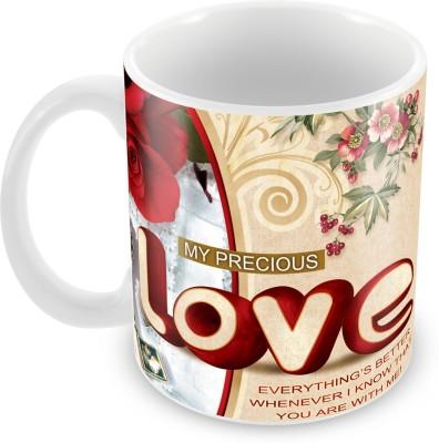 Fashion Envoy Love Valentine  Ceramic Mug