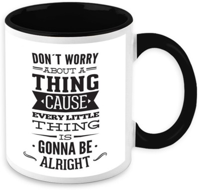 HomeSoGood Every Little Things Gonna Be Alright Ceramic Mug