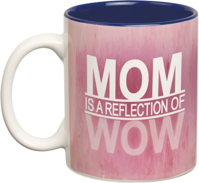 Prithish Mom Is A Reflection Of Wow Double Color Ceramic Mug