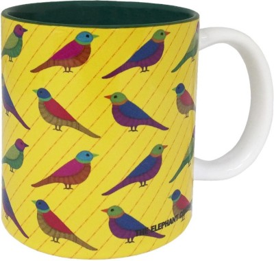 The Elephant Company Gond Art Ceramic Mug