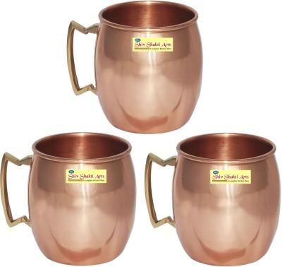 SSA Set of 3 Plane Copper Mug
