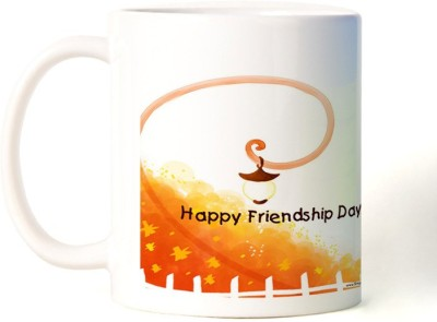 Rockmantra A Best Friend Happy Friendship Day Ceramic Mug