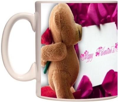 Onlineworld White Coffee  Valentine – 01 Ceramic Mug