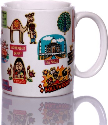 Eco Corner India Ceramic  Porcelain Mug