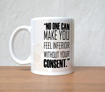 StyBuzz No One Can Beautiful Girl Quote Porcelain Mug(300 ml)