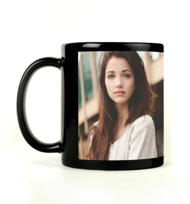 AURRA PRINTED BLACK-793 Ceramic Mug