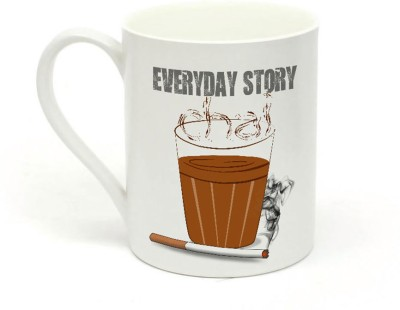 Sowing Happiness Every Day Story Ceramic Mug