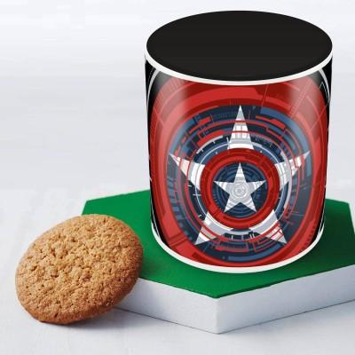 Marvel Captain America classic design Officially Licensed Ceramic Mug
