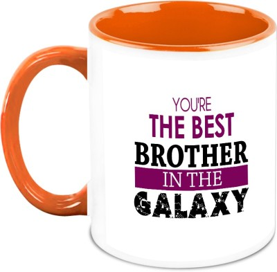 HomeSoGood You Are The Best Brother In Galaxy Ceramic Mug