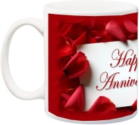 iZor Anniversary Gift for Husband,Wife Ceramic Mug