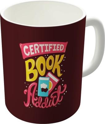 Dreambolic Certified Book Addict Coffee Ceramic Mug