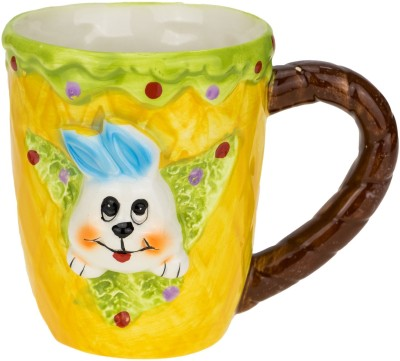 Avenue Rabbit Ceramic Mug
