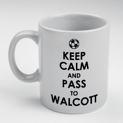 Prokyde Prokyde Keep Calm & Pass to Walcott  Ceramic Mug
