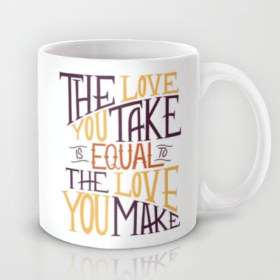 Astrode Love You Take, Love You Make Ceramic Mug