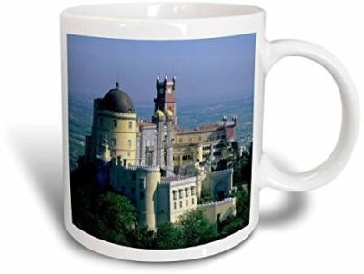 3dRose mug_82474_1 Portugal, Sintra, Pena Palace, Serra Da Sintra EU23 KSC0001 Kevin Schafer Ceramic , 11-Ounce Ceramic Mug