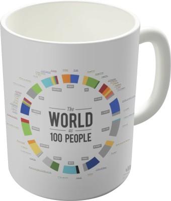 Dreambolic The World As 100 People Ceramic Mug