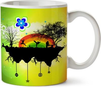 Pentagraphics Graffiti Art Ceramic Mug