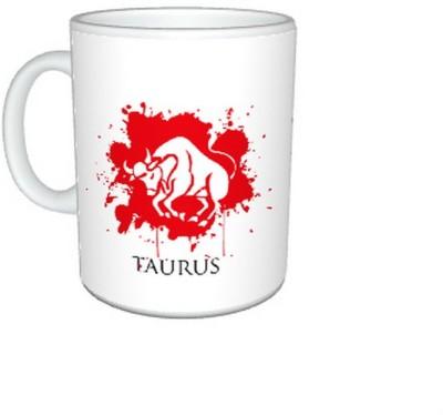 CreativesKart New Zodiac Taurus (M)  Ceramic Mug