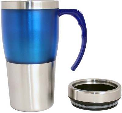 Plastron Travel  450 ml ( Blue ) Plastic Mug