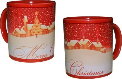 Krishna Studio Christmas Bone China Mug