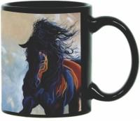 Printland Printland Run Away Black Coffee 350 - ml Ceramic Mug(350 ml) best price on Flipkart @ Rs. 349