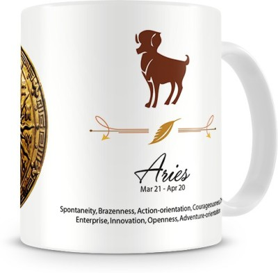 Print Haat Aries Zodiac Ceramic Mug