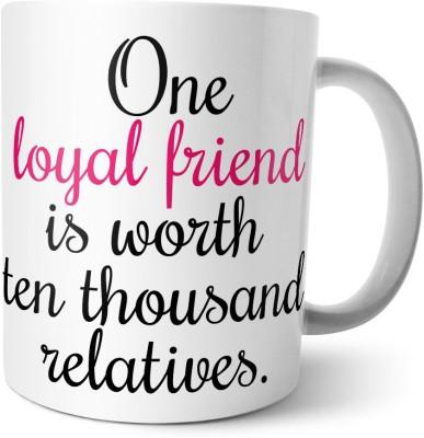 Chiraiyaa Happy Friendship Day - Friends forever - loyal friend Ceramic Mug