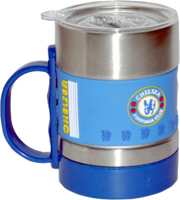 Hommate s Steel Football Clubs Chelsea Stainless Steel Mug