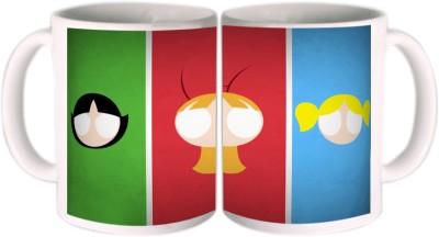 Shopkeeda Amazing Powerpuff Girls Ceramic Mug
