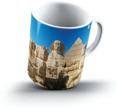 Ucard Great Sphinx Chephren Pyramid Giza Egypt2438 Bone China, Ceramic, Porcelain Mug