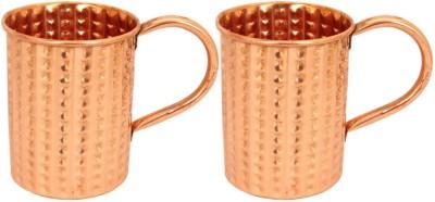 IndianArtVilla IAV-CB-1-705 Copper Mug