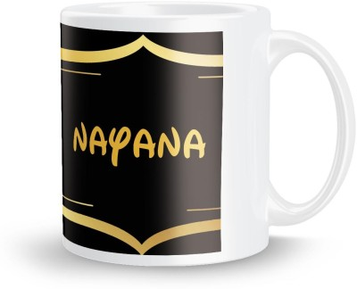 posterchacha Nayana Name Tea And Coffee  For Gift And Self Use Ceramic Mug
