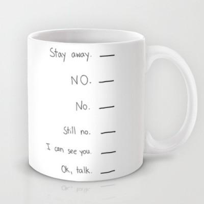 Astrode Coffee Speak Ceramic Mug