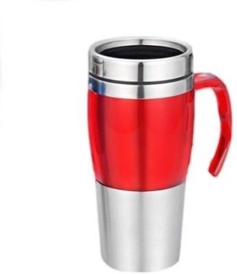 Phoenix Unique Steel Dual Sipper Type Stainless Steel Mug