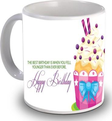 Print Helllo Happy Birthday R158 Ceramic Mug