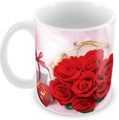 Fashion Envoy Unique In Love With You Valentine  Ceramic Mug