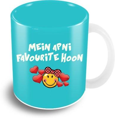 Thecrazyme Main Apni favourite Hoon Ceramic Mug