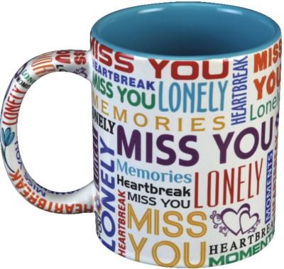 Red Moments MissYou Ceramic Mug