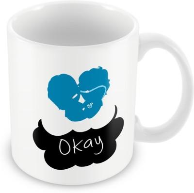 AKUP okay okay Ceramic Mug